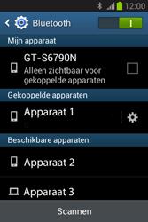 Samsung S6790 Galaxy Fame Lite - Bluetooth - Koppelen met ander apparaat - Stap 8