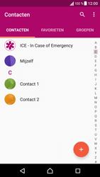 Sony Xperia X (F5121) - Contacten en data - Contacten overzetten via Bluetooth - Stap 4
