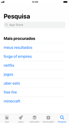 Apple iPhone 6 - iOS 12 - Aplicações - Como pesquisar e instalar aplicações -  9