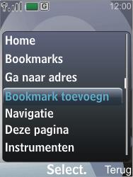 Nokia 7210 supernova - Internet - Hoe te internetten - Stap 6