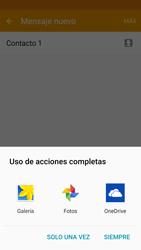 Samsung Galaxy S6 - Mensajería - Escribir y enviar un mensaje multimedia - Paso 18