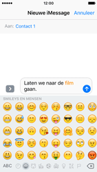 Apple iPhone SE - iOS 10 - iOS features - Stuur een iMessage - Stap 13