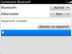 BlackBerry 9900 Bold Touch - Bluetooth - Jumeler avec un appareil - Étape 11