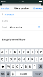 Apple iPhone SE - iOS 10 - E-mail - envoyer un e-mail - Étape 6