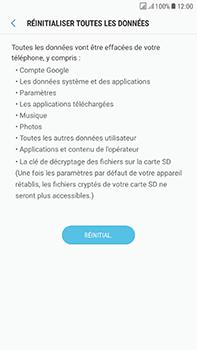 Samsung Galaxy J7 (2017) - Device maintenance - Retour aux réglages usine - Étape 8