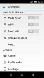 HTC Desire 320 - WiFi et Bluetooth - Configuration manuelle - Étape 4