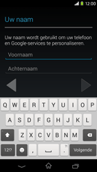 Sony D2303 Xperia M2 - Applicaties - Account aanmaken - Stap 5