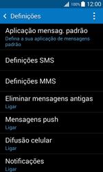 Samsung Galaxy Trend 2 Lite - SMS - Como configurar o centro de mensagens -  6