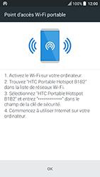 HTC U Play - Internet et connexion - Partager votre connexion en Wi-Fi - Étape 15