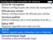 BlackBerry 9620 - Internet (APN) - Como configurar a internet do seu aparelho (APN Nextel) - Etapa 6