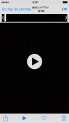 Apple iPhone 5s (iOS 8) - Photos, vidéos, musique - Créer une vidéo - Étape 8