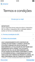 Apple iPhone 6 iOS 9 - Primeiros passos - Como ligar o telemóvel pela primeira vez -  22