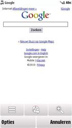 Nokia 5230 - Internet - hoe te internetten - Stap 5
