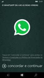 Microsoft Lumia 950 - Aplicações - Como configurar o WhatsApp -  5