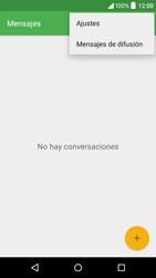 Alcatel Idol 3 - Mensajería - Configurar el equipo para mensajes de texto - Paso 5