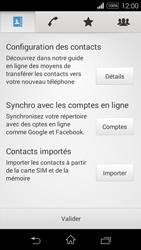Sony Xpéria E3 - Contact, Appels, SMS/MMS - Ajouter un contact - Étape 4