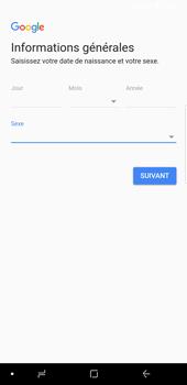 Samsung Galaxy S9 Plus - Applications - Créer un compte - Étape 8
