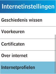 Samsung C3300K - Internet - Handmatig instellen - Stap 6