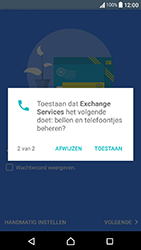 Sony Xperia X Compact (F5321) - E-mail - Handmatig instellen (outlook) - Stap 11