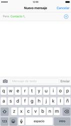 Apple iPhone 6s iOS 9 - Mensajería - Escribir y enviar un mensaje multimedia - Paso 7