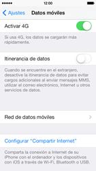 Apple iPhone 5s - Mensajería - Configurar el equipo para mensajes multimedia - Paso 4