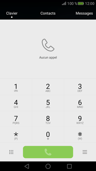 Huawei Mate S - Messagerie vocale - Configuration manuelle - Étape 3