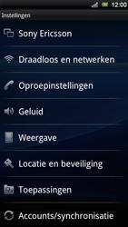 Sony Ericsson Xperia Ray - Netwerk - Gebruik in het buitenland - Stap 4