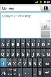 Samsung S7500 Galaxy Ace Plus - MMS - envoi d'images - Étape 7