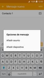 Samsung Galaxy A3 (2016) - Mensajería - Escribir y enviar un mensaje multimedia - Paso 13