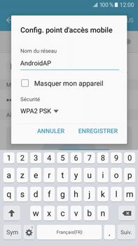 Samsung Samsung Galaxy J7 (2016) - Internet et connexion - Partager votre connexion en Wi-Fi - Étape 8
