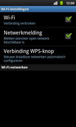 Samsung I9001 Galaxy S Plus - Wifi - handmatig instellen - Stap 6
