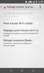 Sony Xpéria E1 Dual - Internet et connexion - Utiliser le mode modem par USB - Étape 6