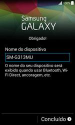 Samsung G357 Galaxy Ace 4 - Primeiros passos - Como ativar seu aparelho - Etapa 15