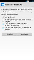 Bouygues Telecom Ultym 4 - E-mails - Ajouter ou modifier un compte e-mail - Étape 18
