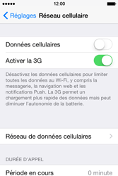 Apple iPhone 4s iOS 8 - Internet - Activer ou désactiver - Étape 5