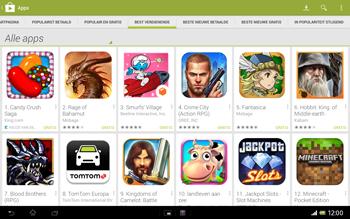Sony SGP321 Xperia Tablet Z LTE - Applicaties - Downloaden - Stap 9