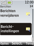 Nokia 2720 fold - E-mail - Handmatig instellen - Stap 4