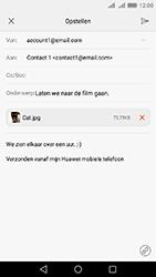Huawei Y6 II - E-mail - Hoe te versturen - Stap 16