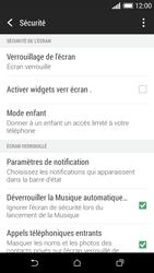HTC Desire 610 - Sécuriser votre mobile - Activer le code de verrouillage - Étape 5