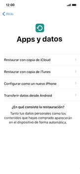 Apple iPhone X - Primeros pasos - Activar el equipo - Paso 15