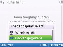 Nokia E5-00 - MMS - handmatig instellen - Stap 10