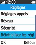 Bouygues Telecom Bc 211 - Aller plus loin - Restaurer les paramètres d'usines - Étape 4