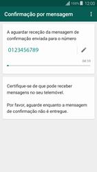 Samsung Galaxy Grand Prime - Aplicações - Como configurar o WhatsApp -  8