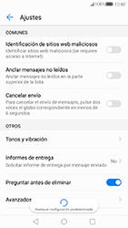 Huawei P10 - Mensajería - Configurar el equipo para mensajes de texto - Paso 6