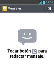 LG Optimus L3 II - Mensajería - Configurar el equipo para mensajes de texto - Paso 4