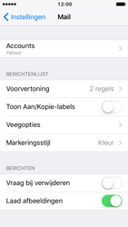 Apple iPhone 5 iOS 10 - E-mail - handmatig instellen (yahoo) - Stap 9