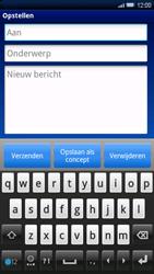Sony Ericsson Xperia X10 - E-mail - e-mail versturen - Stap 4