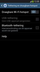 Samsung I9195 Galaxy S IV Mini LTE - WiFi - Mobiele hotspot instellen - Stap 6