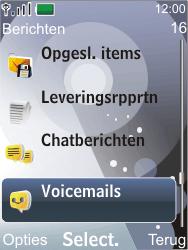 Nokia 7210 supernova - Voicemail - Handmatig instellen - Stap 4