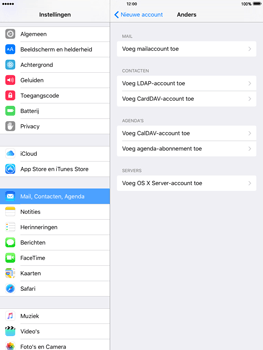 Apple iPad 2 iOS 9 - E-mail - Handmatig instellen - Stap 6